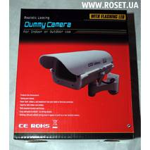 Камера-муляж Looking Dummy Camera With Flashing LED