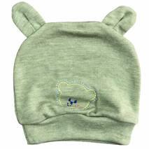 Шапка «Мишка» интерлок с вышивкой