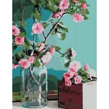 """Картина за номерами 34х45 см """"Ніжність квітів"""" Rosa N00013179"""