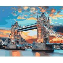 """Картина за номерами 40х50 см """"Лондонський міст"""" Ідейка КНО3515"""