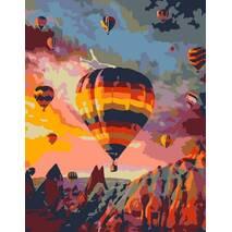 "Картина за номерами 35х45 см ""Політ над скелями"" Rosa N00013339"