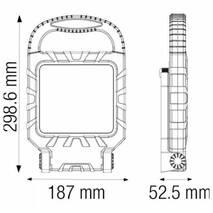 Прожектор переносний SMD Led 45W 6400K Horoz