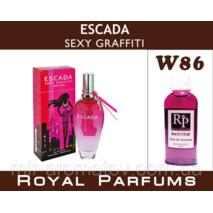 Женские духи на разлив Royal Parfums Escada «Sexy Graffiti»   №86