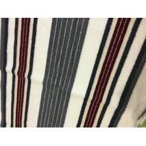 Набор качественных полотенец МАХРОВЫХ 3 шт (140*70, 90*50, 50*30)  бело-серый