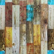 Самоклеющаяся декоративная 3D панель Палитра дерево 700x700x4мм