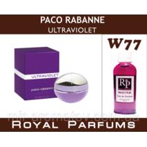 """Жіночі духи на розлив Royal Parfums Paco Rabanne """"Ultraviolet""""   №77"""