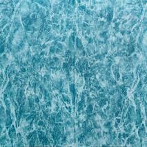 Декоративная 3D панель самоклейка Морская мраморная плитка 700x700x4мм