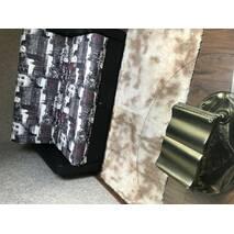 Прикроватный коврик травка с высоким ворсом 150х200 цвета кофе с молоком