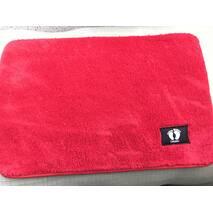 Мягкий коврик в ванную 40х60 см розовый