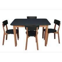 Комплект обідній стіл + стільці LOKI бук, купити в Україні