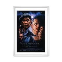 """Постер """"Побег из Шоушенка"""" без стекла 29.7  x 42 см в белой рамке"""