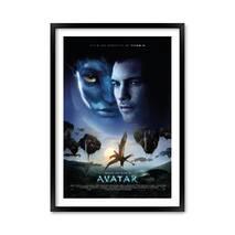 """Постер """"Аватар"""" без стекла 29.7 x 42 см в чёрной  рамке"""