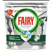 Найсучасніший засіб для посудомийних машин Fairy Plаtinum Professional Original All in One Mega Pack, 75 шт