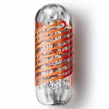 Мастурбатор Tenga Spinner 02 Hexa с упругой стимулирующей спиралью внутри, стандартная спираль