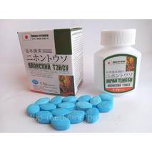 Японский тенсу 16 табл. -препарат для потенции. японский тенгсу. японский тэнсу