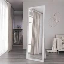 Напольное зеркало в спальню Black Mirror Белое 170х60 в полный рост для дома