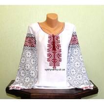 рубашка женская вышитая ручной работы