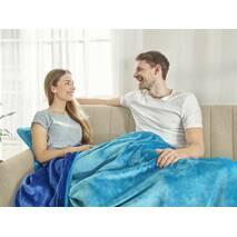 Покрывало Whipstitch Dormeo Синий  200x200 см