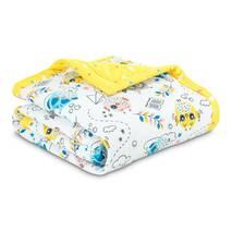 Одеяло Эмоциональные Совушки Dormeo Желтый  200x200 см