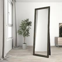 Зеркало в полный рост напольное 170х60 Темно-зеленое Black Mirror в прихожую спальню коридор