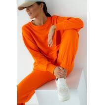 Barley Однотонный спортивный костюм - оранжевый цвет, S