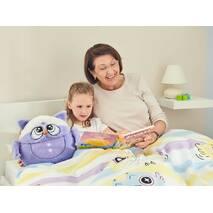 Плед-игрушка Семья Сов Dormeo Бабушка (фиолетовый)