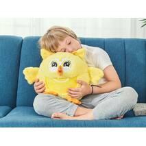 Плед-игрушка Семья Сов Dormeo Мама (желтый)