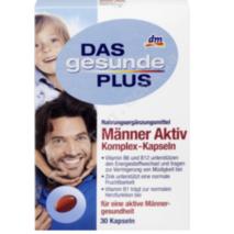 Manner Aktiv Komplex-Kapseln, 30 шт мультивітамінний комплекс для чоловіків з L-карнитином.