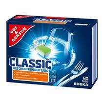 Таблетки для посудомоечных машин Gut & Gunstig Edeka Power Classic 60 шт