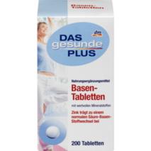 Basen - Tabletten 200 шт., 200 гр для поддержки кислотно-щелочного и энергетического обмена, снимает усталость.