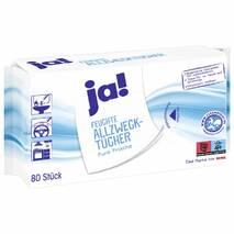 Влажные салфетки для уборки Ja! Pure Frische 80 шт