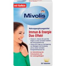 Immun & Energie Duo Effekt 30 шт., 30 гр для поддержки иммунитета и энергетического метаболизма.