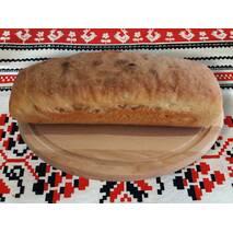 Бездрожжевий хлеб на закваске Пшеничний ( из муки  высшего сорта )
