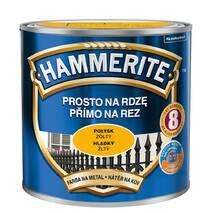 Антикорозійна фарба Hammerite глянсова жовта 0,7л.