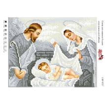 Ісус в колисці (срібло)   А4