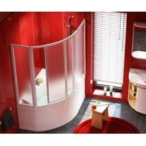 Двери для ванны Rosa I раздвижные  VDKP4 Rosa 150 см