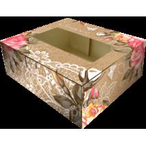 Универсальная крафтовая коробка 200*180*70 мм