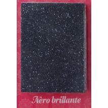 Овальная кухонная мойка MOKO VERONA Nero BRILLANTE на основе мрамора