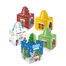 Новогодняя коробка для конфет
