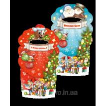 Рождественская упаковка для конфет