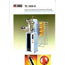 Круглов'язальна машина для виробництва круглих сіток, модель TC-300-E-HP