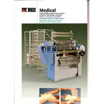 Основов'язальна машина для медичних виробів RIUS MEDICAL 1000