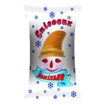 """Ванільне морозиво """"Сніговик"""", стаканчик"""