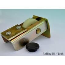 Фурнитура для откатных ворот: Усиленный комплект до 500кг (металло - полимерные ролики)