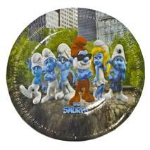 Одноразові картонні тарілки Smurfs