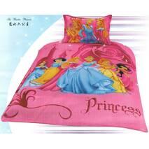 Комплект дитячої постільної білизни Princess