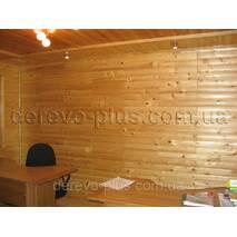 Блок-хаус ель (смерека) 85 мм, 1.0-1.9м