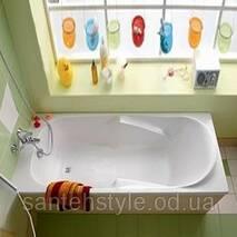 Акриловая ванна DIUNA 1200x700х545 мм с ножками XWP3120
