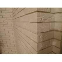 """Декоративна плитка під цеглу """"Манхеттен"""" (біла)"""