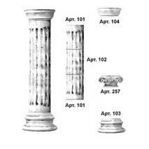 Колонна наборная Арт.№101+102+104(257)+103
